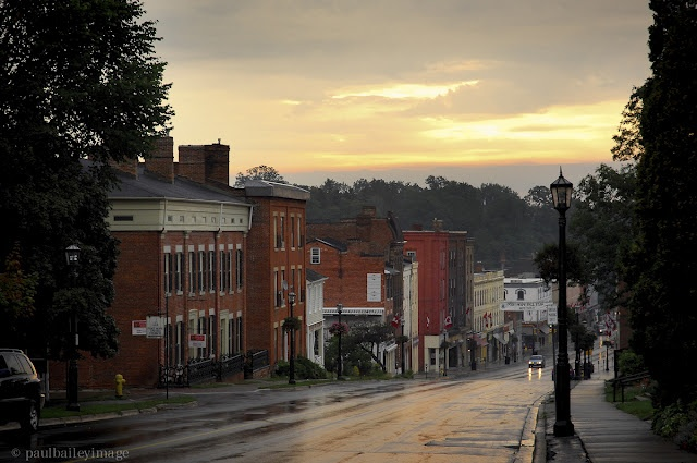 Downtown Port Hope - a beautiful historic town! Photo by Paul Bailey, http://theartdiary.blogspot.ca/