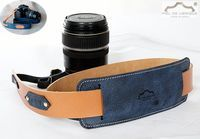 Correa de cuero para cámara de fotos con hombrera por PieldeUbrique