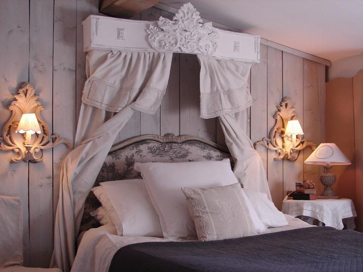 chambre coucher ciel de lit le grenier dalice shabby chic - Chambre Vintage Romantique