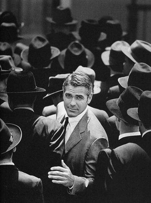 George Clooney does his best Cary Grant.