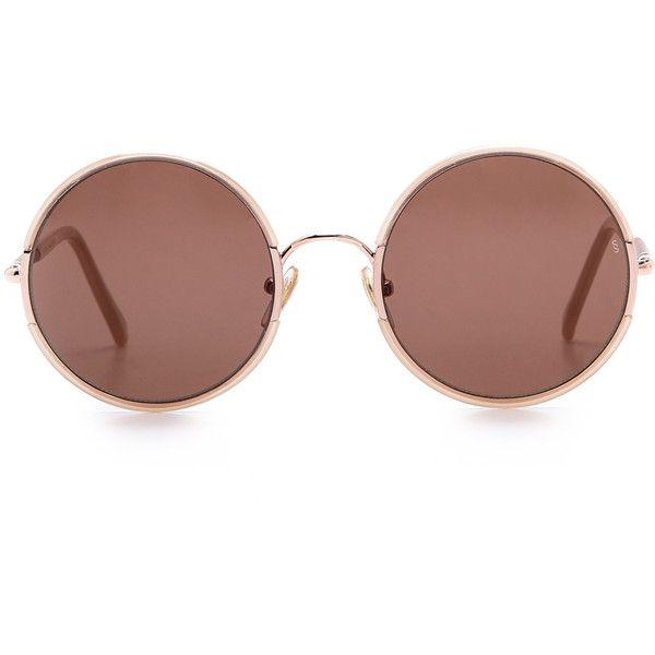 Sunday Somewhere Yetti Sunglasses found on Polyvore