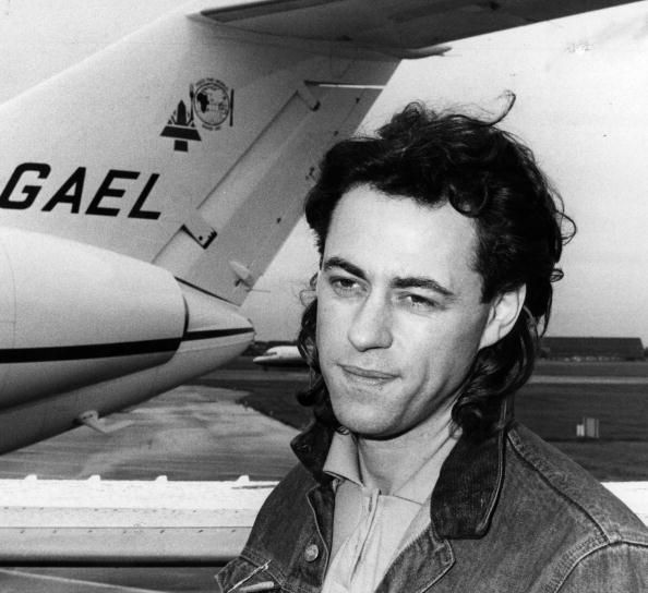 Sir Bob Geldof ~ A great humanitarian, voice of a generation, Irish accent, and he's cute. ;)