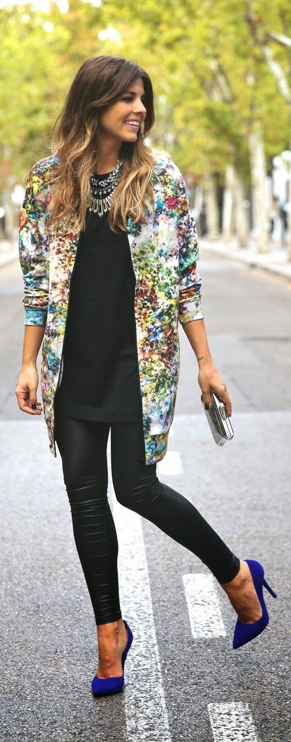 40 Printed Fashion Outfits to Make Your Friends Jealous | http://stylishwife.com/2015/06/printed-fashion-outfits-to-make-your-friends-jealous.html