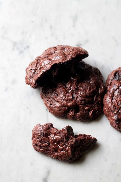 Flourless Double Chocolate and Pecan Cookies (gluten free and dairy ...