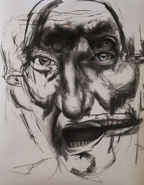 """Saatchi Online Artist Kristoffer Evang; Drawing, """"Motion"""" #art"""