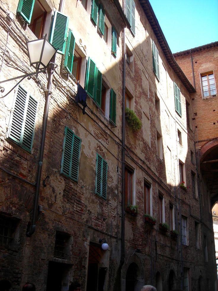 Caminando por Siena- La Toscana- Italia