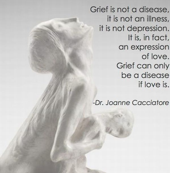 An expression of love. #Grief #Sorrow