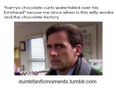 Dumb FanFic Moments.