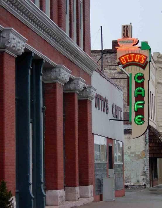 Otto's Cafe 711 North Broadway, Pittsburg, Kansas 66762