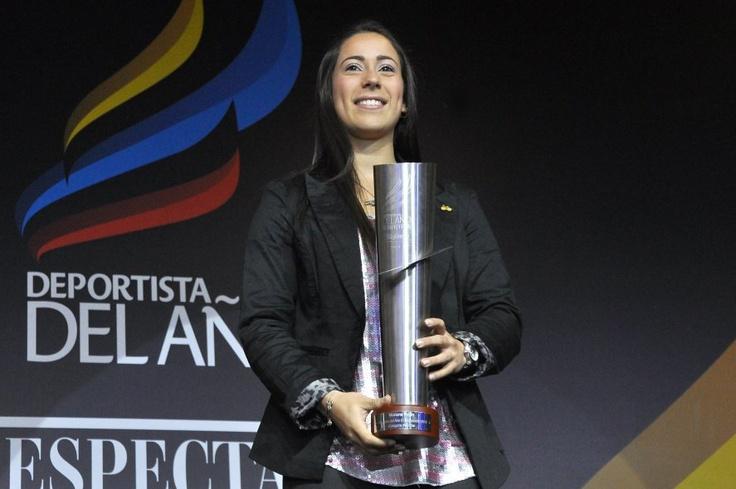 Mariana Pajón, la Deportista del Año de El Espectador 2012.
