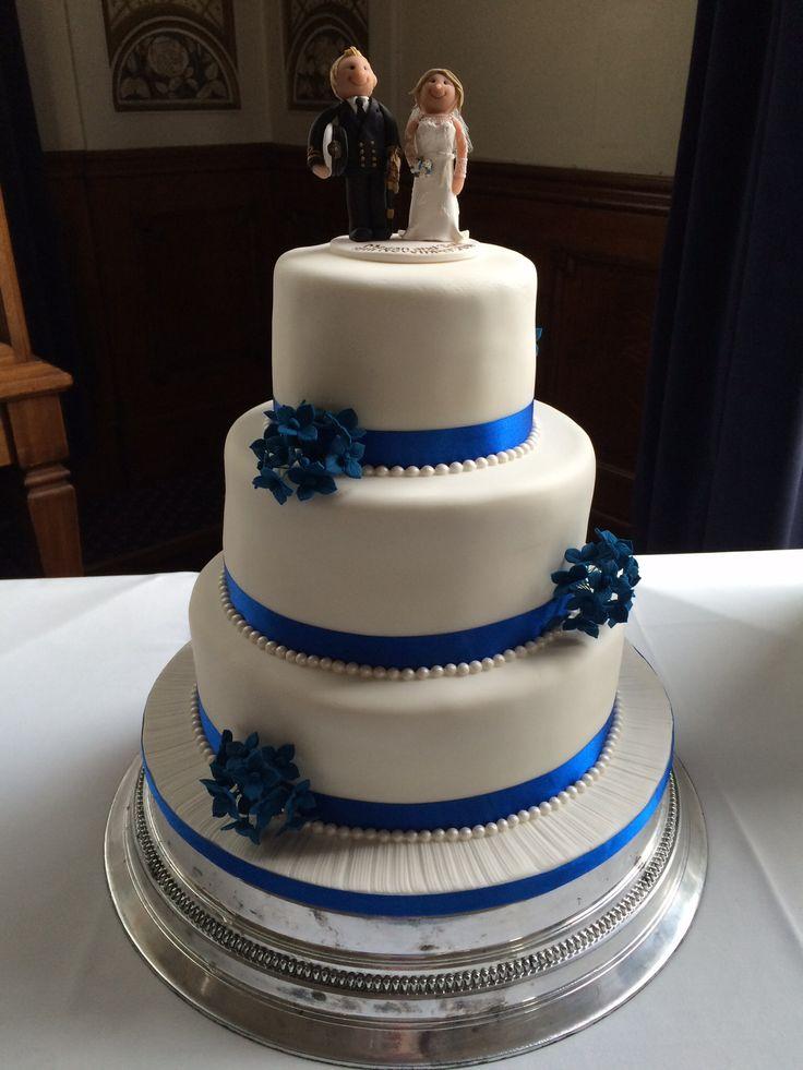 All sponge wedding cake