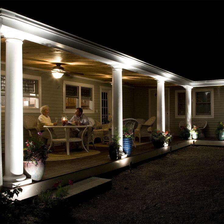 Stephen parrott photo of romantic scene in covered porch cast lighting