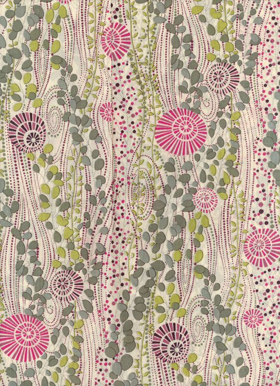 Liberty Tana Lawn Fabric Daisy Ann 10 x 27 by MissElany on Etsy, $5.20