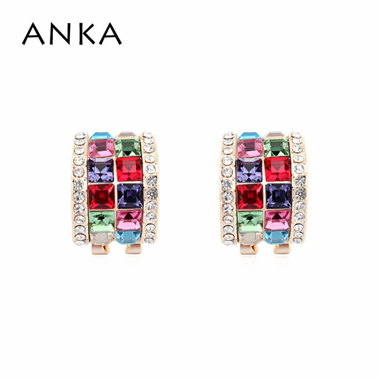 Fine Jewelry Crystal Colorful Earring For Chile Women New Crystal Luxury Crystals from Swarovski Jewelry niquel free #104736 #Affiliate