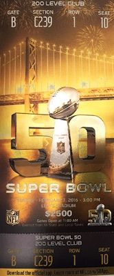 2016 Super Bowl 50