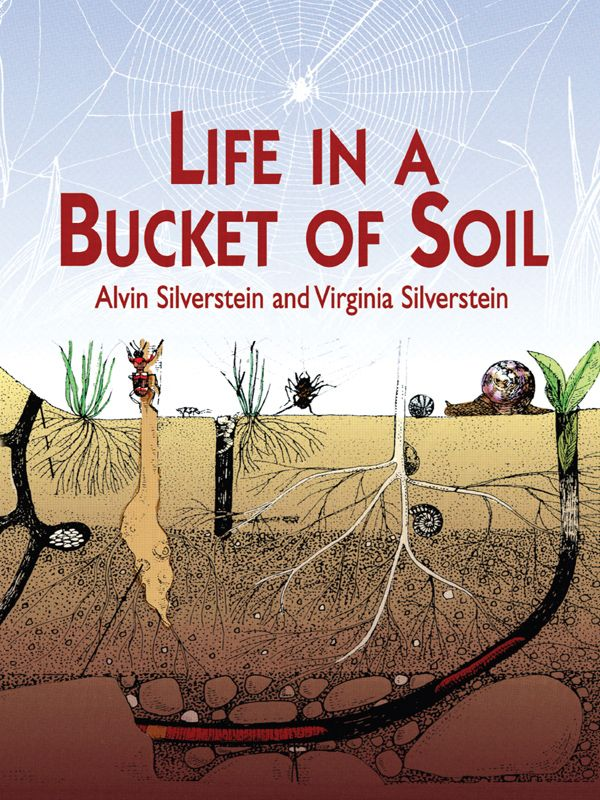 Life in a Bucket of Soil by Alvin Silverstein  Fascinating book introduces grade-school youngsters to industrious ants, tunnel-building earthworms, snails and slugs, beetles, and many other creatures inhabiting the world beneath our feet. Vivid descriptions of how they live, breed and interact; their methods of locomotion, feeding and defense; and the effect they have on the soil in which they live. #science