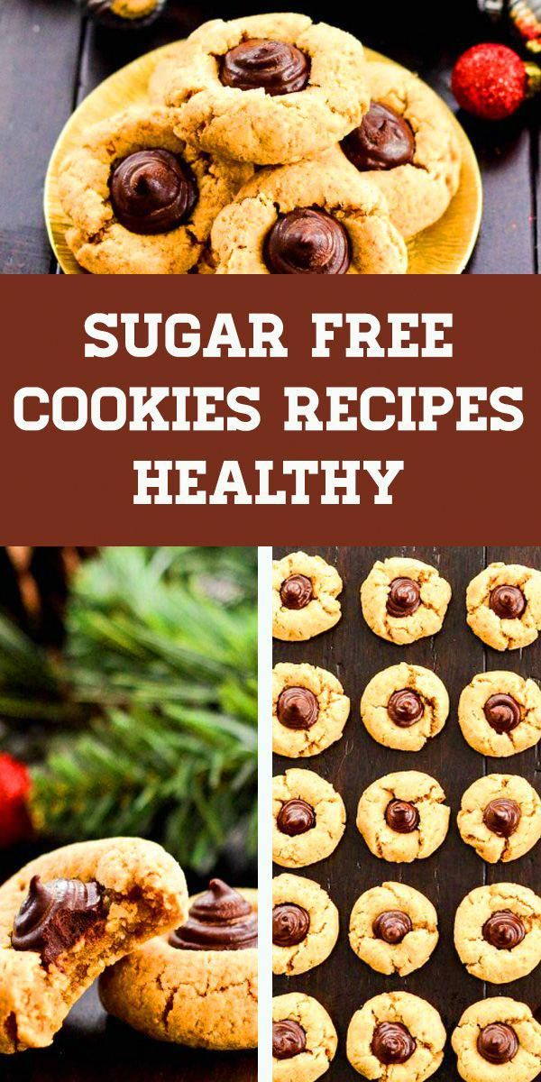 Sugar Free Cookies Recipes Healthy Diabetic Desserts Diabetic Recipes Type 2 Sugar Free Dess Sugar Free Cookie Recipes Sugar Free Snacks Sugar Free Cookies