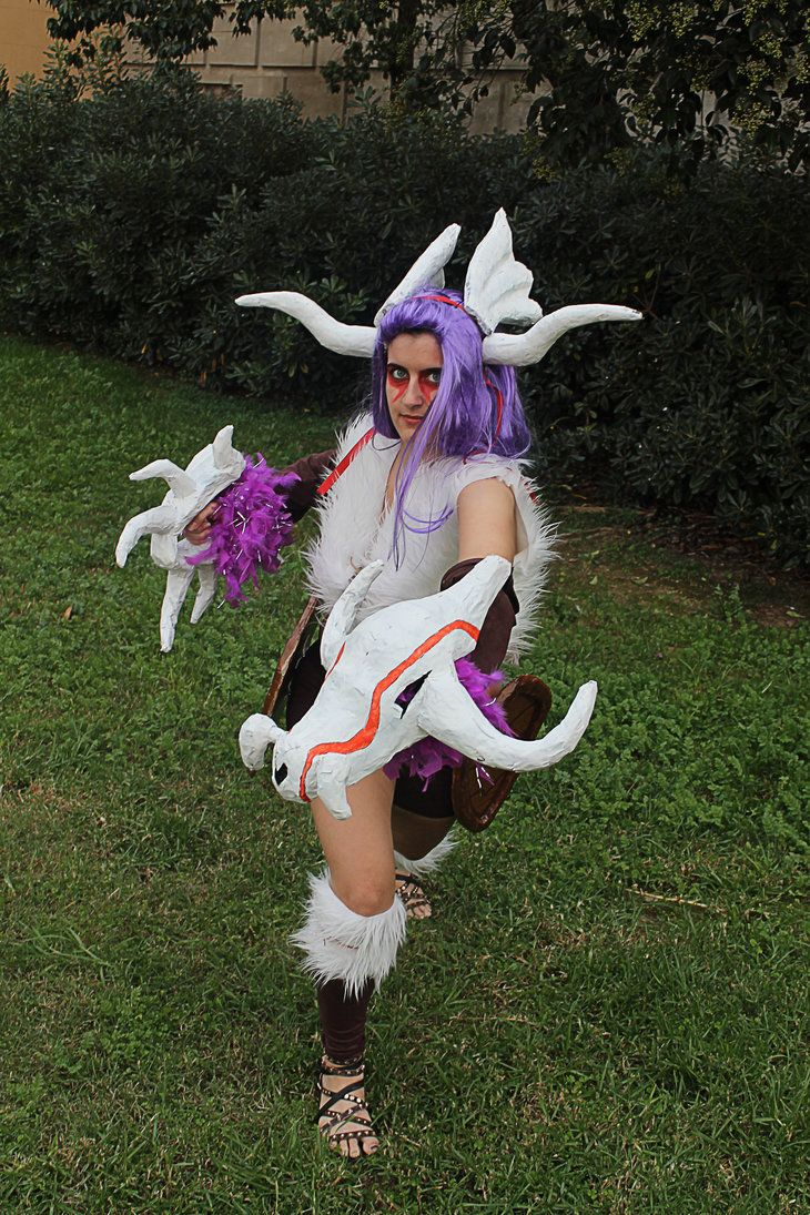 Shyvana Boneclaw, League of Lefends Cosplay