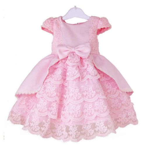 1 piece 2014 new high quality  baby Girl party Dresses Infant Party Princess flower Dresses,Girls wedding Dress birthday dress