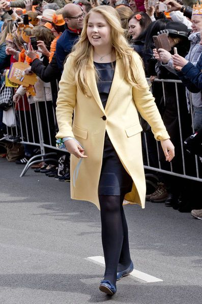 Princesse Catharina-Amalia, princesse d'Orange, 27 avril 2017, Koningsdag (Tilburg, Pays-Bas)