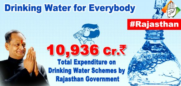 Drinking water for everybody in Rajasthan