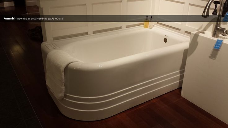 Americh bow tub best plumbing wa 7 2015 showroom for Best soaker tub for the money