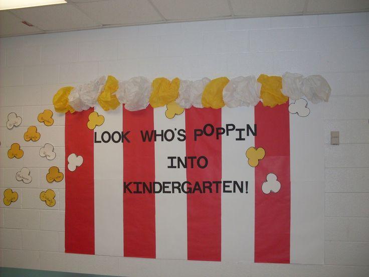 Open House Hallway Decorations For Kindergarten