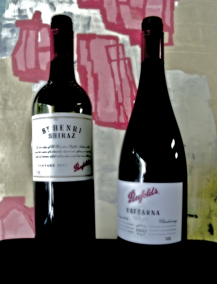 Oh yum, some great Penfolds wines from the Barossa Valley.