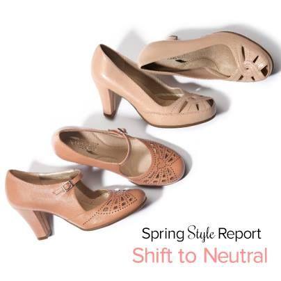 Let your shoe wardrobe speak the universal language of neutral colors!