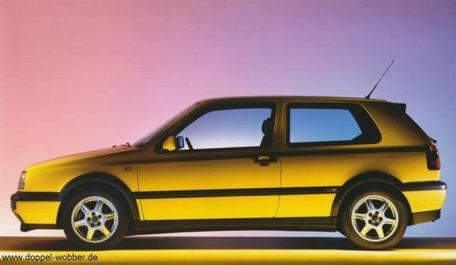 VW Golf 3 Colour Concept of Double WOBber