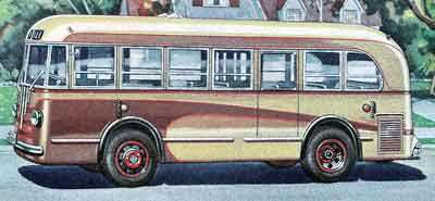 1940 Yellow Coach TG 2701