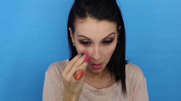Easy Drugstore Brown Smokey Eye Makeup Look Francess Michelle #makeup #makeuptest #makeupartist #makeupaddict #makeuplover #makeupjunkie #wakeupandmakeup #makeupforever #makeuptutorial #beautyblog #hudabeauty #naturalbeauty #beauty #beautyhacks #mua #cosmetics #skincare