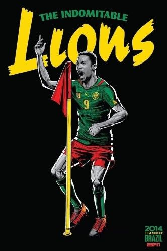 World Cup Posters_CAMEROON
