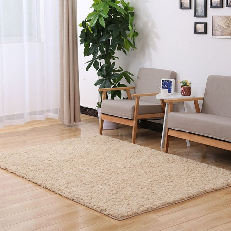 2017 Carpets For Living Room Shaggy 6 Color Rug Anti Skid Carpet Floor  Bedroom Soft