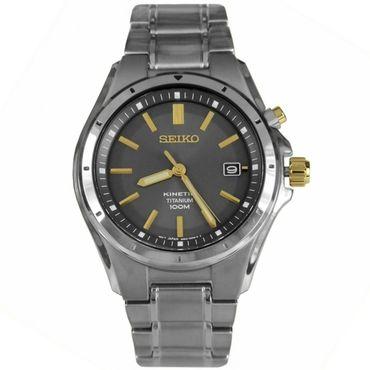 Seiko SKA495P1 Mens Kinetic Titanium Watch   WatchO™