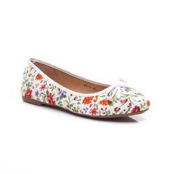 BALERÍNY FLORAL GIRL, ľahké topánky, jemný dievčenskú vzor Dámske baleríny. Model je veľmi dievčenské. Kvetinový vzor oživia každý outfit. Pohodlné a komfortné. Materiál: textil http://cosmopolitus.com.pl/product-slo-41142-BALERINY-FLORAL-GIRL-lahke-topanky-jemny-dievcensku-vzor.html #Jarne #Baleríny #lacne #ciernymi #hnedy #topanky #Zimne Dámske topánky Baleríny