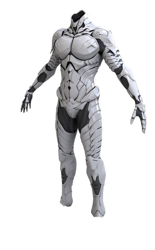 Image result for white leather armour