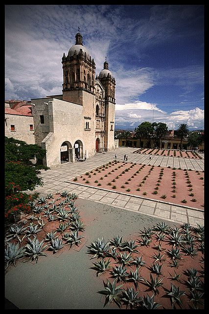 In the summer of 2006 (I think) I lived a few blocks from here, El Templo del Santo Domingo, Oaxaca, Mexico.