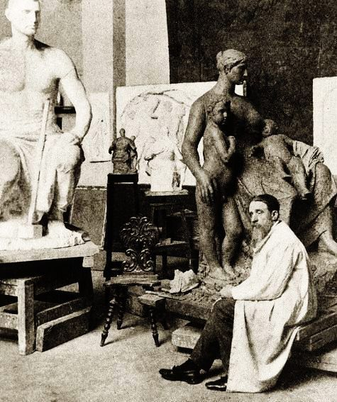 Belgian artist - Constantin Meunier (12 April 1831 – 4 April 1905),painter and sculptor, was born in a working class district of Etterbeek, Brussels