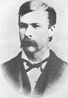 Morgan Earp, Wyatt's yougest brother. (click thru for story)