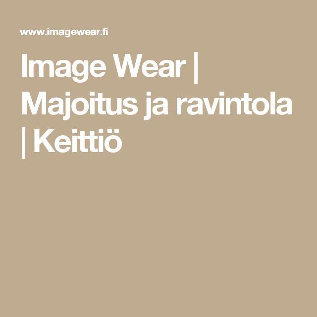 Image Wear | Majoitus ja ravintola | Keittiö