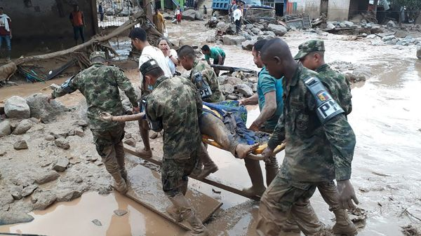 Avalanche Of Mud And Water Kills More Than 125 In Colombian City