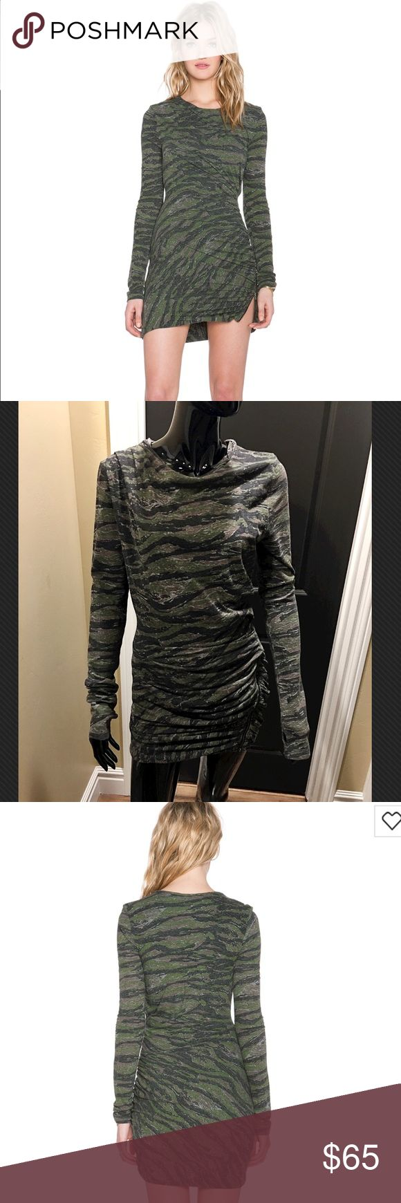 Pam & Gela Let me introduce you to Pam & Gela. I absolutely love their clothing it's always really unique and it sets you aside from everybody else. Twisted zip dressed in camo Pam & Gela  Dresses Long Sleeve