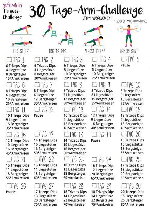 30 Tage-Arm-Challenge: Sag den Winkearmen auf Nimmerwiedersehen! ...repinned für Gewinner! - jetzt gratis Erfolgsratgeber sichern www.ratsucher.de