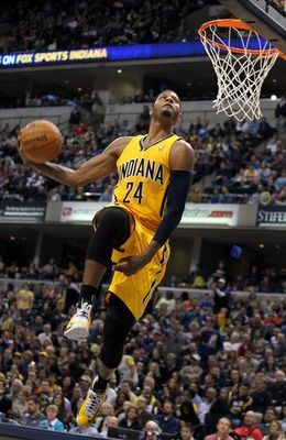 Paul George dunk #1 of the year!