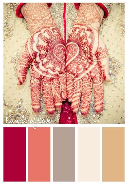 Henna design / mehndi on hands