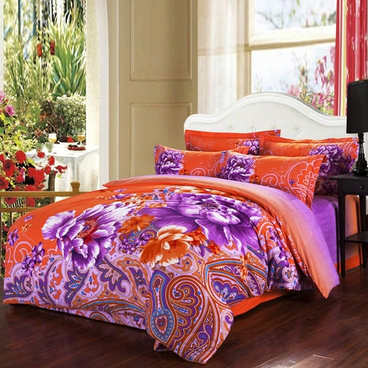 Queen Size Paisley Bedding Sets - EnjoyBedding.com I like this for Laney
