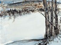 Paesaggio invernale da Nandor Mikola