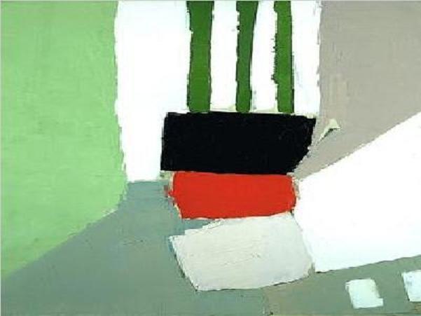 'Nice' (1954) by Nicolas de Staël
