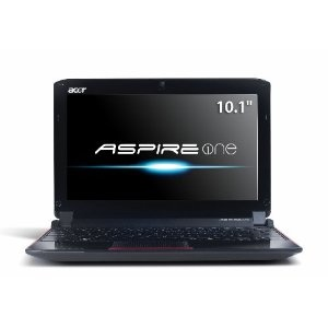Acer AO532h-2730 10.1-Inch Garnet Red Netbook - Up to 8 Hours of Battery Life (Personal Computers)